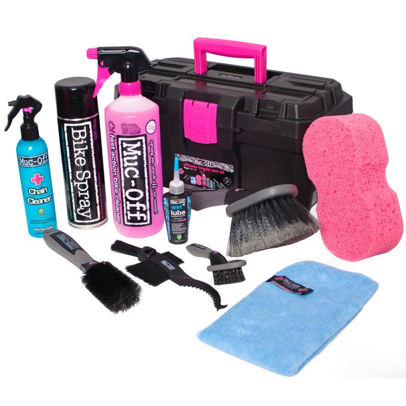 muc off coffret nettoyage moto kit cleaning bikers design official web shop. Black Bedroom Furniture Sets. Home Design Ideas