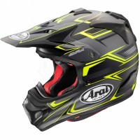 ARAI MX-V SLY YELLOW BLACK