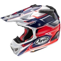 ARAI MX-V SLY RED