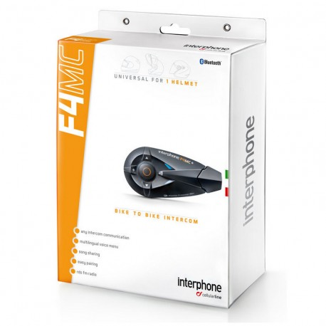 Interphone F4MC Single Pack