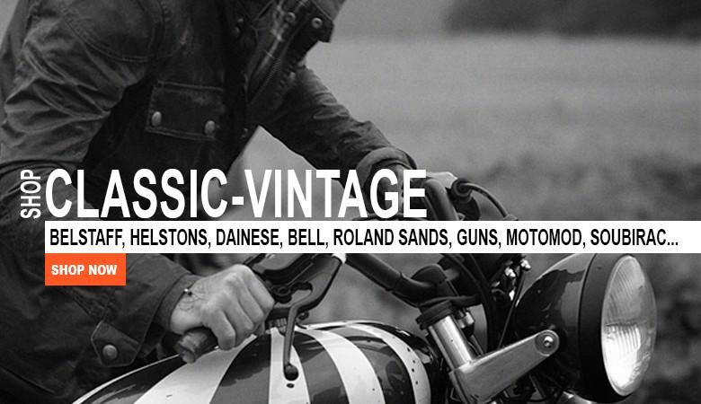 Tout l'équipement moto Classic-Vintage